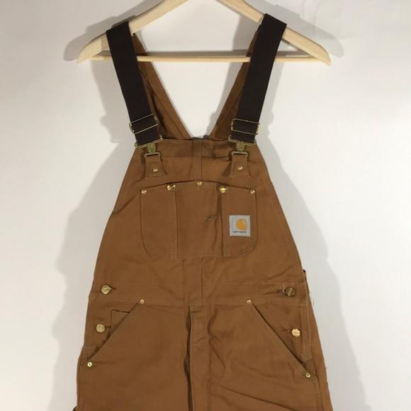 91902189c2d95 Carhartt Pants | Insulated Bib Coveralls Mens 32x32 | Poshmark